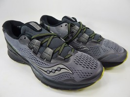 Saucony Zealot ISO 3 Size 9 M (D) EU 42.5 Men's Running Shoes Gray S20399-1