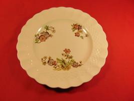 """6 1/2"""" Bread Plate, from  Copeland-Spode, Wicker Lane, Basket Weave Pattern. - $9.99"""