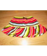 Girl's Size 4 Gymboree Winter Cheer Striped Fleece Skirt New NWT Red Gre... - $15.00