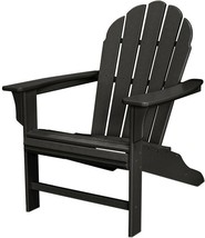 Adirondack Chair Contoured Seating Weather Resistant UV Protected Charco... - $313.95