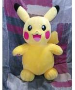 Pikachu Pokemon Plush Toy Build A Bear Workshop Stuffed BAB - $54.99