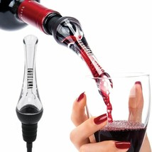 Red Wine Aerator Pourer Decanter Spout Dispenser Pouring Wines Party Kit... - $30.74