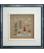 CLEARANCE Snow and Ice cross stitch chart Littl... - $4.00