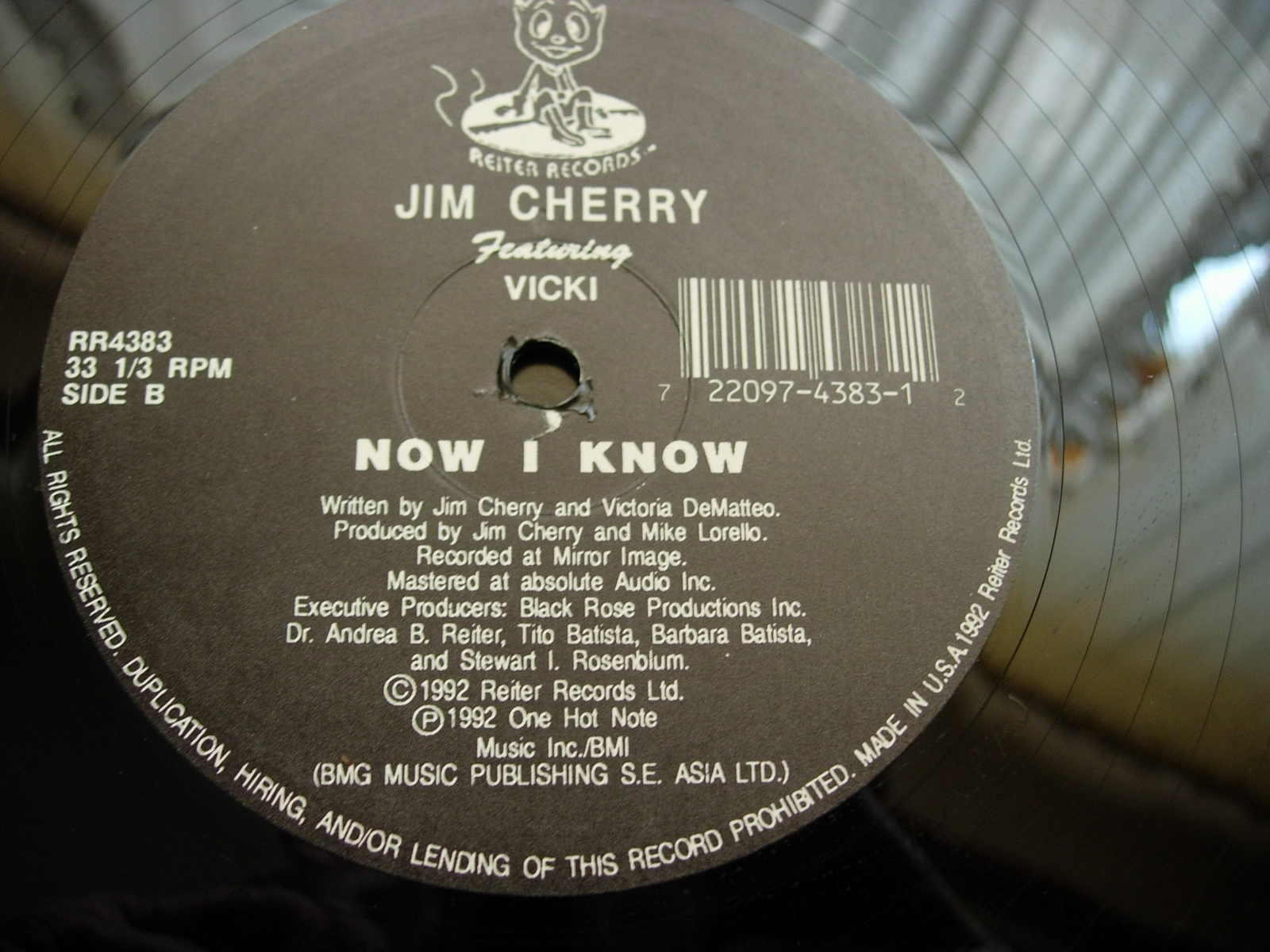 Jim Cherry - After the Storm / Now I Know - Reiter Records RR4383