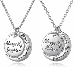 Mother Daughter Jewelry Necklace Gift Set For 2 - ''Always My Mother/Daughter Fo