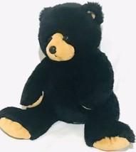 "Ty Black Bear 12"" Plush Stuffed Animal 2007 - $23.52"