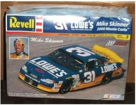 Revell Mike Skinner 2000 Monte Carlo 31 LOWES NASCAR 1:24 Scale Model Kit  - $16.82