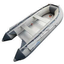 BRIS 10.8 ft Inflatable Boat Dinghy Pontoon Boat Tender Fishing Raft image 4