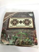 Spinnerin Needlepoint Navajo Vintage Needlepoint Kit 14×26 Art New/Unopened - $59.39