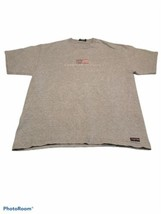 Vintage Jansport American Classic USA T Shirt Men's Size L Gray Graphic Faded - $12.30