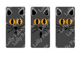 Spooky Domino Images DIGITAL File.  Instant Download.  PNG & SVG files.  No Phys image 2