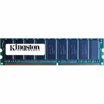 Kingston KVR400AK2/2GR 2GB 2 X 1GB PC3200U Ddr 400 CL3 Non-ECC Unbuff Memory Kit - $29.45