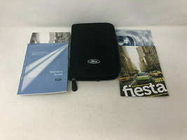 2011 Ford Fiesta Owners Manual Handbook Set with Case Z0A150 - $57.59