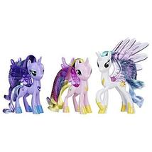 My Little Pony Princess Celestia, Luna, and Cadance 3 Pack – 3-Inch Glit... - $88.99
