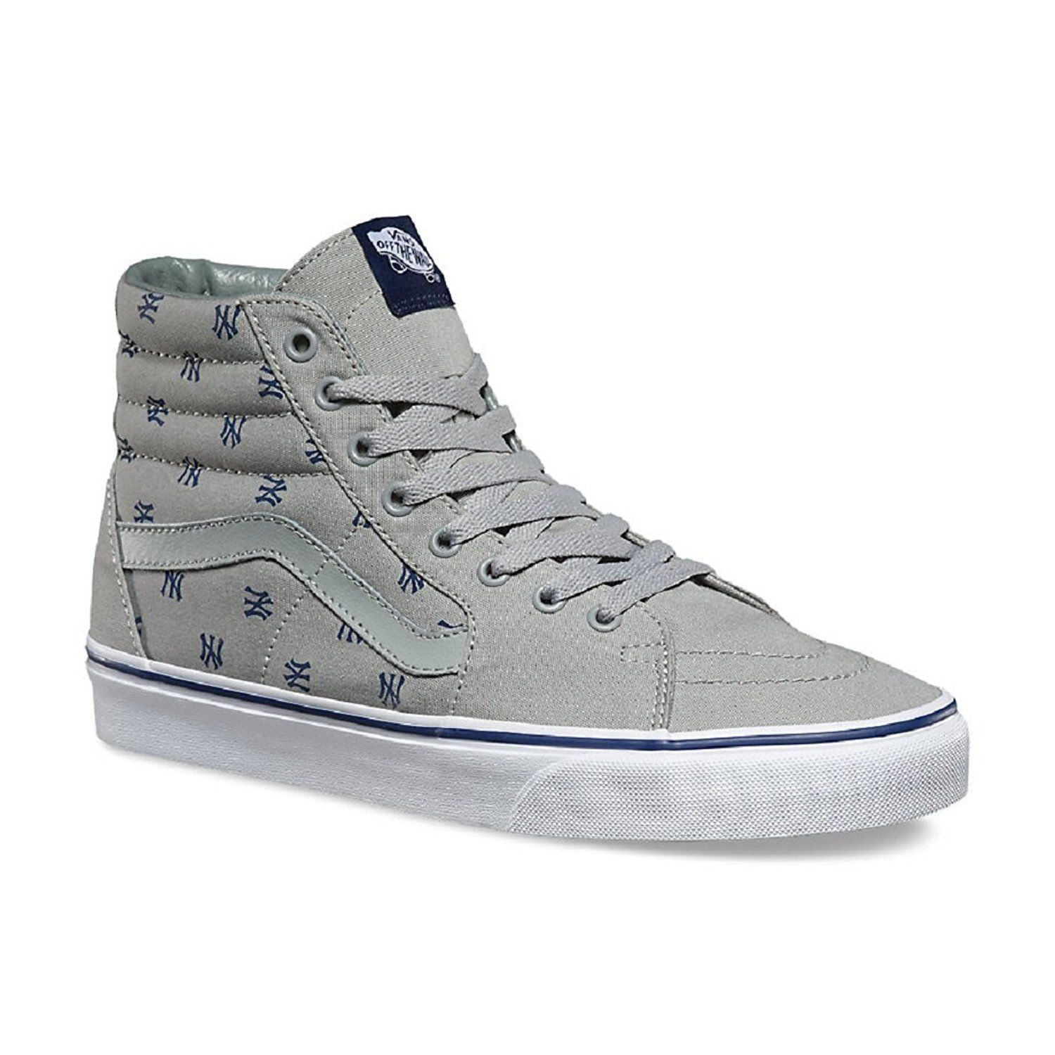 24cce21f1b4247 S l1600. S l1600. Previous. New Vans SK8 HI MLB New York Yankees Gray Mens  size 6.5 Womens 8 NIB · New ...