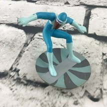 """Disney Pixar The Incredibles Frozone Figure 2.5"""" PVC Action Posed - $6.44"""
