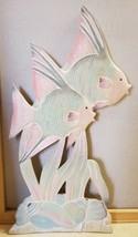 """3d Wall Sculpture Decor Ocean Fish Tropical Decor 11.5"""" x 23.5"""" - $29.99"""