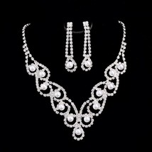 Hot Sale Fashion Style Vintage Luxury Elegant Pearl Rhinestone Crystal B... - $13.36