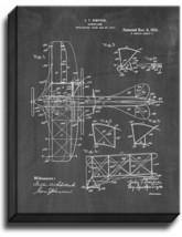Aeroplane Patent Print Chalkboard on Canvas - $39.95+