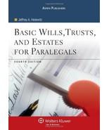 Basic Wills Trusts & Estates for Paralegals Helewitz, Jeffrey A. - $15.69