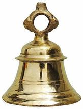 PARIJAT HANDICRAFT Solid Brass Temple Ganta Hanging Ship Bell Brass Pooj... - $52.47