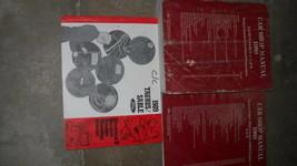 1989 Ford Taurus Mercury Sable Service Shop Repair Manual Set OEM W WIRI... - $29.65
