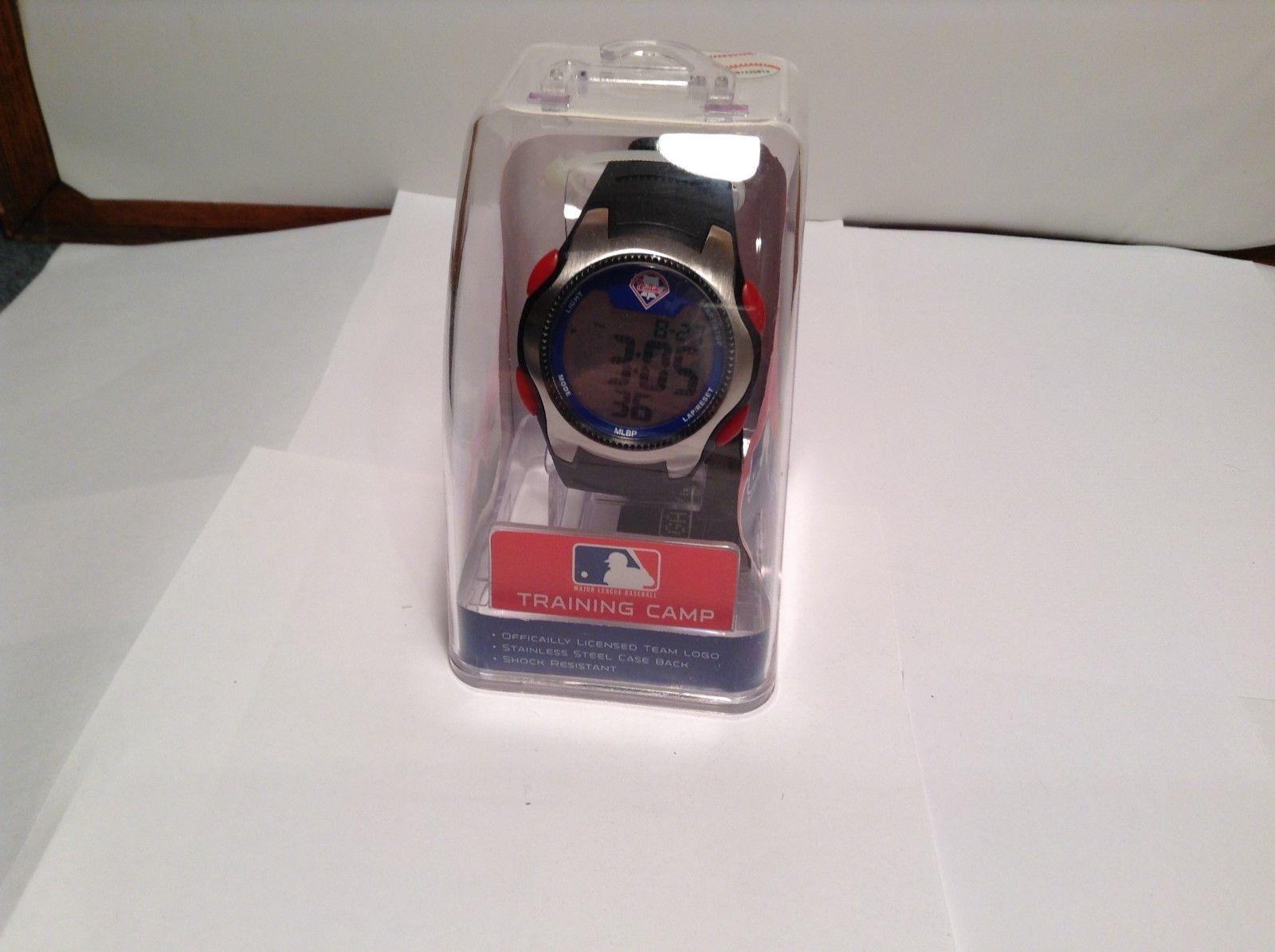 NEW MLB Phillies Training Camp Round Digital Wristwatch