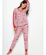 Victoria's Secret The Thermal PJ Set, size XL - $45.00