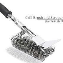Onlyvogue Barbecue Stainless Cleaning Scrubber - £12.17 GBP