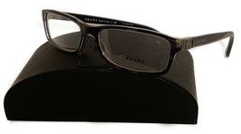 Prada Women's Blue Horn Glasses with case VPR 09O EAR-1O1 55mm - $209.99