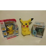 POKEMON: SQUIRTLE POP + MY PARTNER PIKACHU + PIKACHU PLUSH TOY - FREE SH... - $32.73