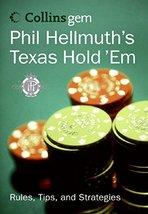Phil Hellmuth's Texas Hold 'Em (Collins Gem) [Paperback] Hellmuth Jr., Phil image 1