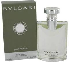 Bvlgari Pour Homme 3.4 Oz Eau De Toilette Cologne Spray   image 3