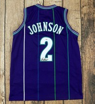 "LARRY JOHNSON AUTOGRAPHED/SIGNED CUSTOM PURPLE ""GRAND MAMA"" JERSEY PSA/D... - $88.11"