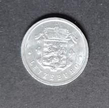 Letzeburg 25 CMes 1954 Aluminum Coin - $1.95