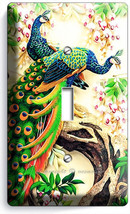 Peacocks Love Birds Flowers Tree Light Switch 1 Gang Wall Plates Room Home Decor - $8.99