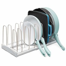 YouCopia 50138 StoreMore Expandable Cookware organizer, One Size, White - $31.25