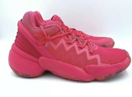 Adidas DON Issue 2 Crayola Power Pink Crayon Basketball Shoes FW8750 Youth 6 New - $117.60
