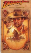 Indiana Jones and the Last Crusade Vhs