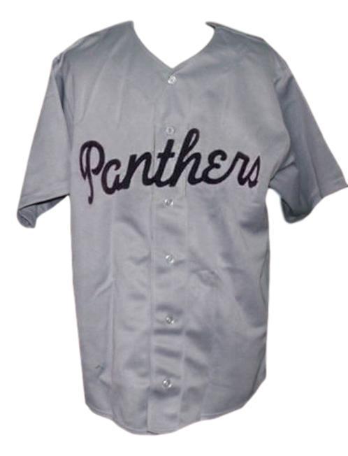 Washington panthers negro league retro baseball jersey 1950 button down grey   1