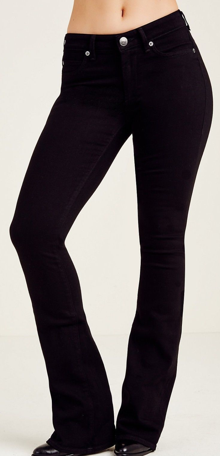 cae4a72a9 True Religion Women Jet Black Denim Curvy and 50 similar items. S l1600