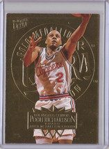 1995-96 Fleer Ultra Gold Medallion Pooh Richardson #81 Basketball Card - $3.75