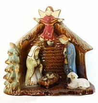 Kurt Adler Porcelain Nativity Scene 5 inches - $19.80