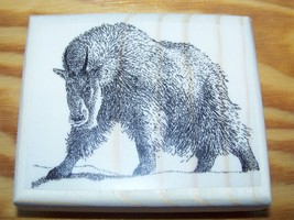 Mountain Goat ~ New Mounted Rubber Stamp - $9.00