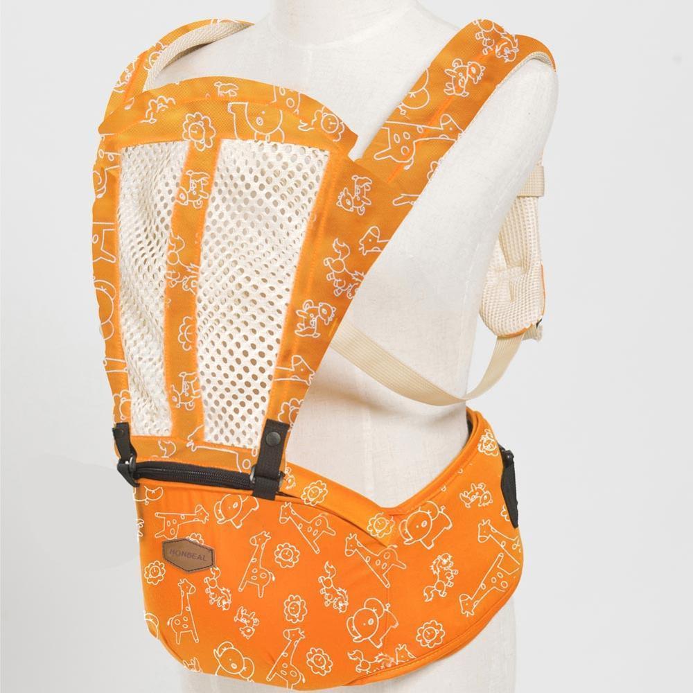 ea655371e5c ... Breathable Ergonomic Infant Baby Carrier Adjustable Wrap Sling Newborn  Backpack ...