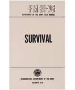 US Survival Field Manual Issue FM 21-76 Book Oct 1970 Bug Out Preppers A... - $12.99
