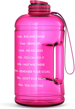 Gallon Sports Fitness Water Bottle with Time Marker BPA Free & Non Toxic Bottle - $16.75