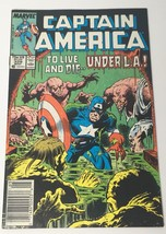 Captain America Comic Book Vol 1 No 329 May 1987 Marvel Comics Group VG - $10.98