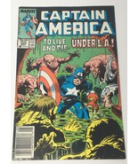 Captain America Comic Book Vol 1 No 329 May 1987 Marvel Comics Group VG - $10.98