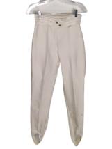 Obermeyer Women' Prowler Vintage Stirrup Off White Double Hook Ski Pants... - $49.45